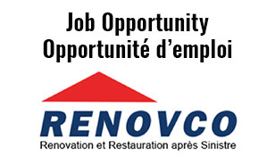 Renovco Job Opportunity